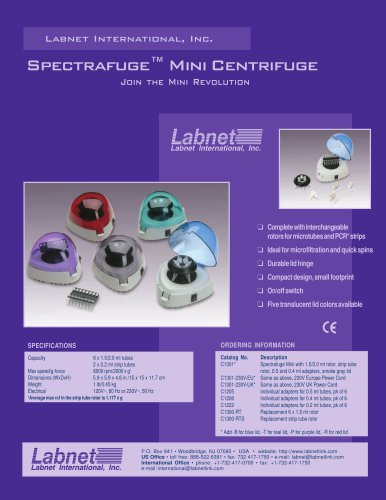 Spectrafuge