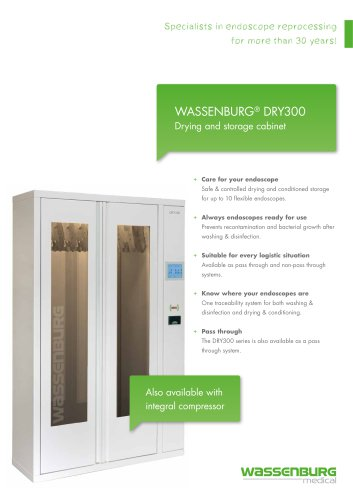 DRY300D Endoscope drying cabinet