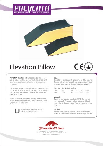 PREVENTA - Elevation Pillow