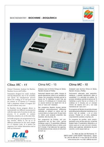 Clima MC - 15