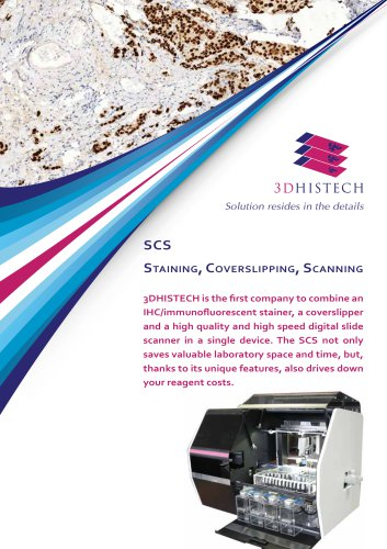 SCS (Staining, Coverslipping, Scanning)