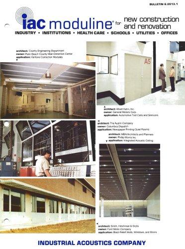 Acoustic Construction Panels (Moduline)