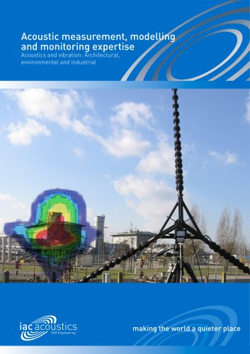 Acoustic Measurement, Modelling & Monitoring