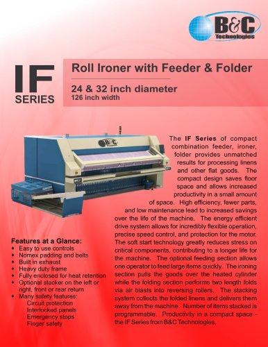 IF Series Commercial Feeder-Ironer-Folder