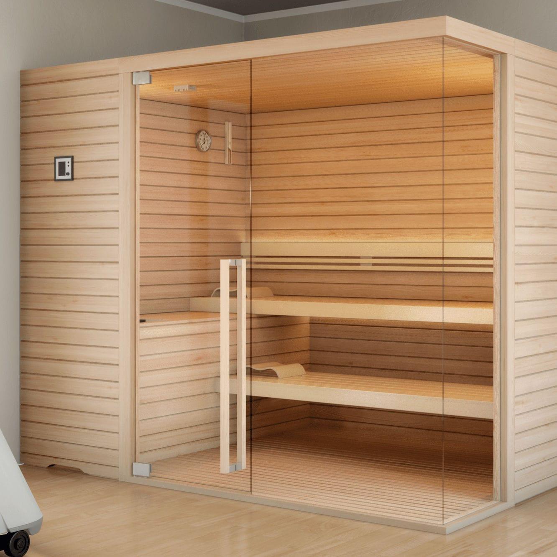 Cabine De Sauna Prix sauna cabine / à pierres à sauna topclass stenal