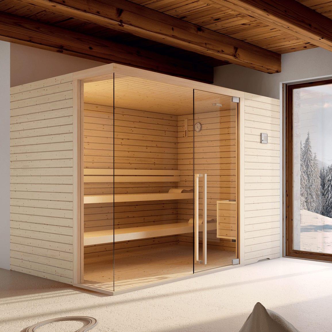 Cabine De Sauna Prix sauna cabine / à pierres à sauna elegant stenal