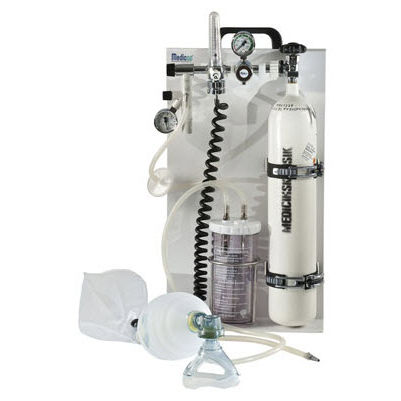 bouteille oxygene medical avec masque