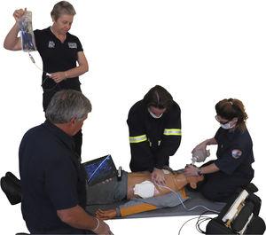 simulateur patient pour soins d'urgence / d'intubation / pour injections intraveineuses / corps entier