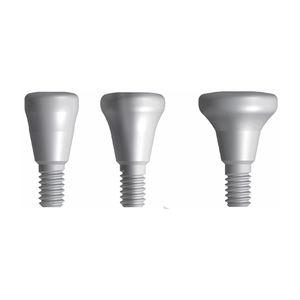 pilier de cicatrisation droit / anatomique / conique / cylindrique