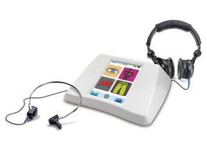 audiomètre avec renforcement visuel
