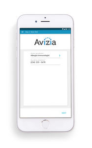 application iOS pour smartphone