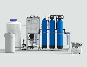 système de traitement d'eau pour unités dentaires