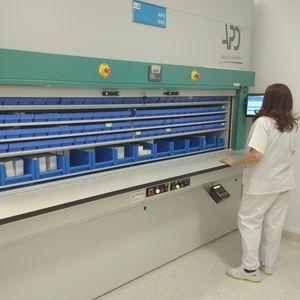 système de gestion et de stockage logistique