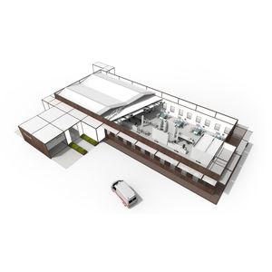 hôpital modulaire