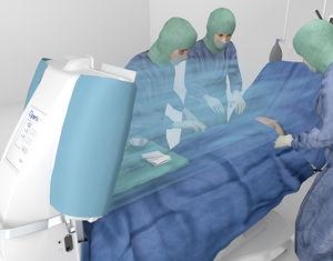 module à flux laminaire pour salles d'opération