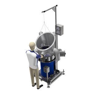 isolateur de confinement / d'échantillonnage / modulaire / portable