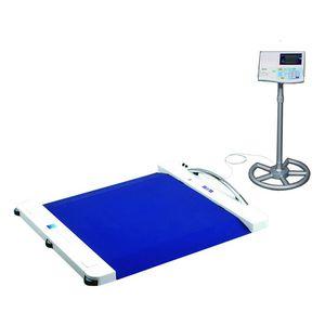 plateforme de pesée électronique / pour fauteuils roulants / avec affichage numérique / avec indicateur séparé