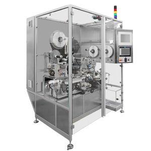 machine d'étiquetage pour l'industrie pharmaceutique / automatique