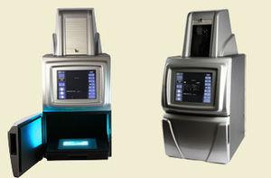système de documentation sur gel par fluorescence