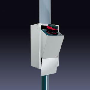 système de tubes pneumatiques de déchargement