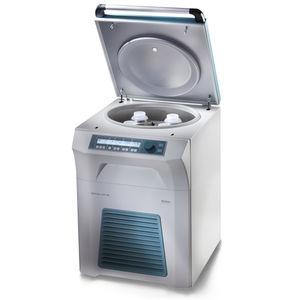 centrifugeuse de laboratoire / sur pied / à grande capacité / réfrigérée