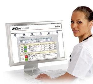 système de gestion de données patient / d'hôpital / de perfusion