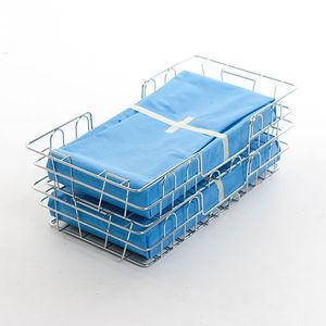 panier de stérilisation en acier inoxydable