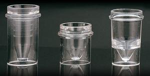 pot pour échantillons en polystyrène