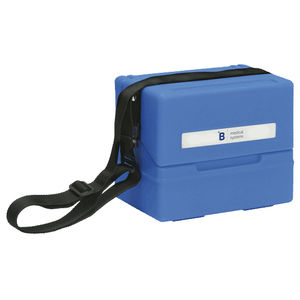 conteneur pour poche de sang / de sang / de transport / pour produits thermosensibles