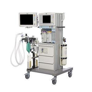 station d'anesthésie sur chariot