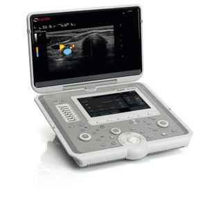 échographe portable / pour échographie polyvalente / noir et blanc / doppler couleur
