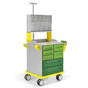 chariot de distribution de médicaments