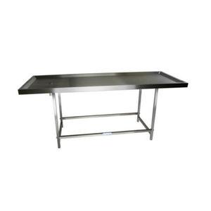 table de préparation funéraire