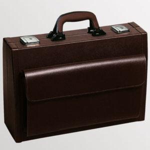 mallette de médecin de transport / en cuir