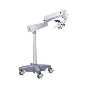 microscope de chirurgie dentaire / microscope de consultation dentaire / sur roulettes