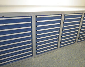 armoire pour stockage d'échantillons