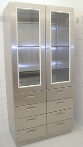 armoire pour instruments
