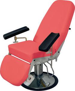 fauteuil de prélèvement sanguin hydraulique / 3 sections / à hauteur variable