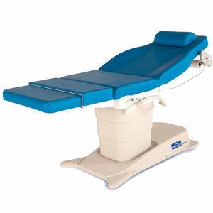 table d'examen pour échocardiographie / de kinésithérapie / gynécologique / pour échographie