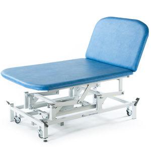 table de Bobath électrique / manuelle / à hauteur réglable / sur roulettes