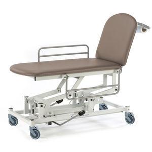 chariot brancard de transport / manuel / hydraulique / à hauteur variable