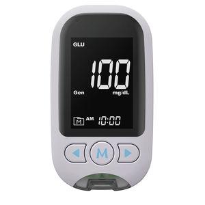 lecteur de glycémie à usage domestique / Bluetooth / USB / cholestérol