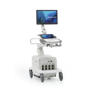 échographe sur plateforme / pour échographie polyvalente / noir et blanc / doppler couleur
