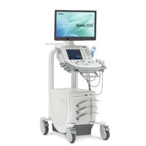 échographe sur plateforme / pour échographie polyvalente / noir et blanc / 3D/4D