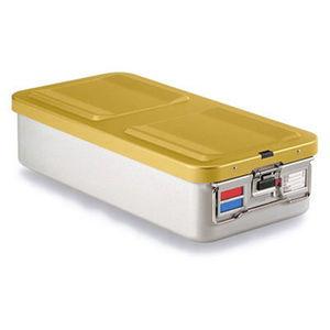 container de stérilisation pour instruments / en aluminium / perforé