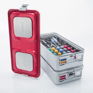 container de stérilisation pour instruments / non perforé