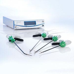 pince endoscopique / de coupe électrochirurgicale / de scellement de vaisseaux / bipolaire