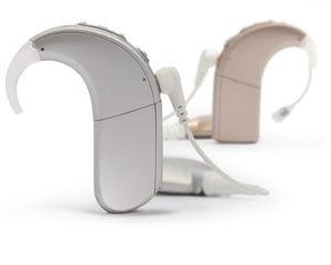implant cochléaire processeur contour d'oreille