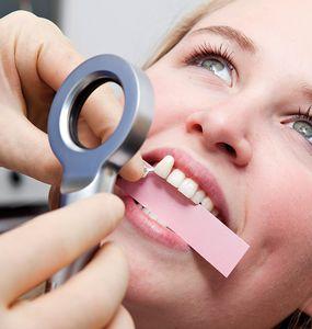 lampe d'examen pour la teinte dentaire / orale / à LED / portable