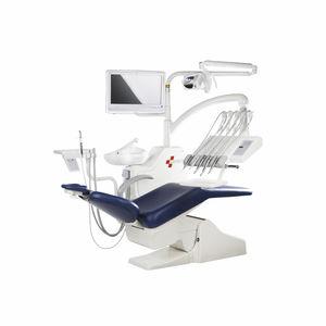 unité de soin dentaire avec éclairage